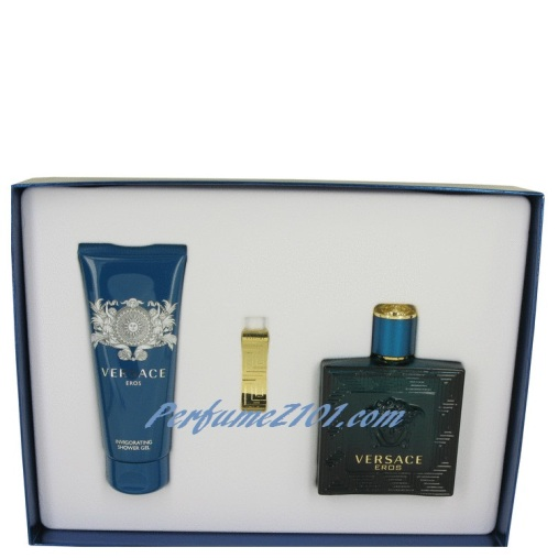 versace eros cologne set